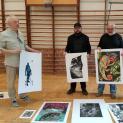 Nagroda w Międzynarodowym Biennale Grafiki Artystycznej